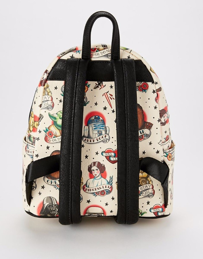 Spencers - Loungefly x Star Wars tattoo backpack