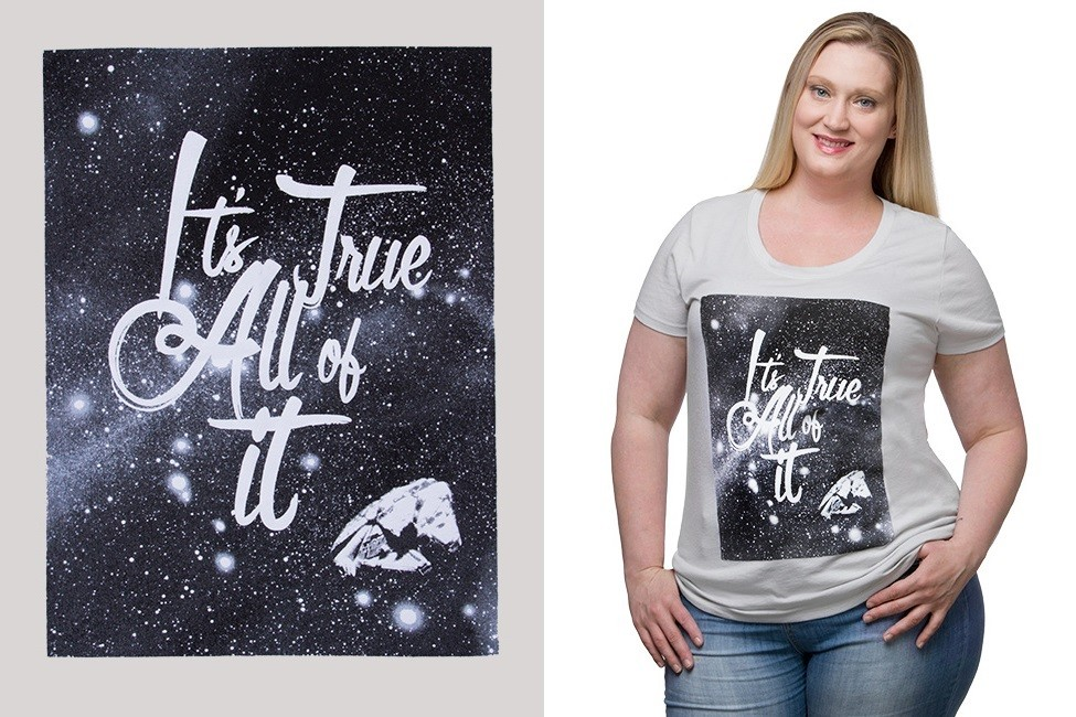 New Star Wars plus size tee at Thinkgeek