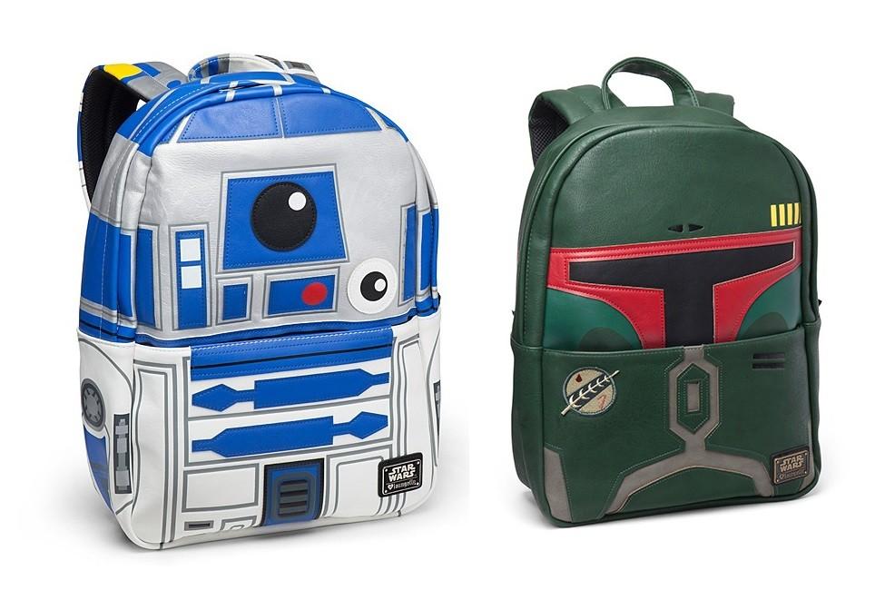 Loungefly premium backpacks at Thinkgeek
