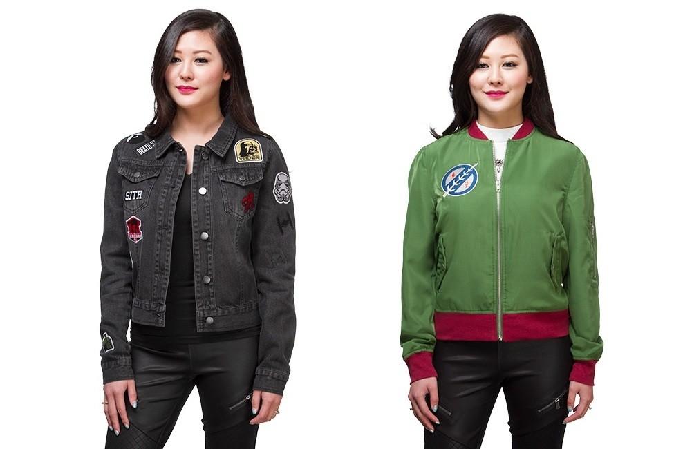 Women's Star Wars jackets at Thinkgeek