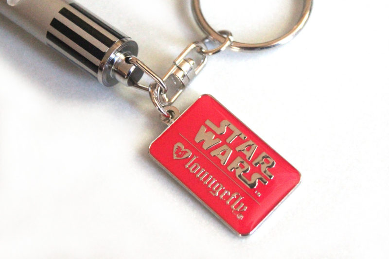 Loungefly - Lightsaber keychain (red)