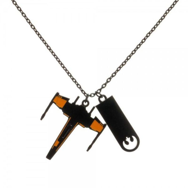 Amazon - Black Squadron X-Wing necklace