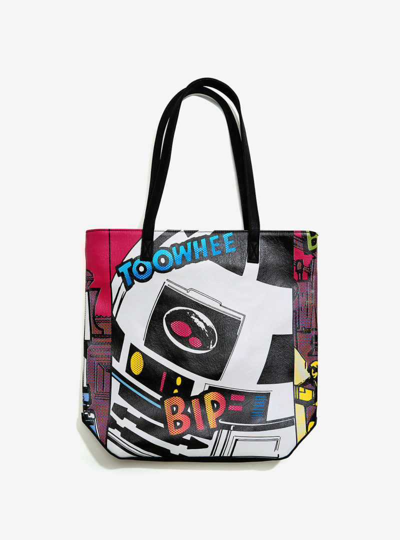 Box Lunch - Loungefly x Star Wars R2-D2 comic tote bag