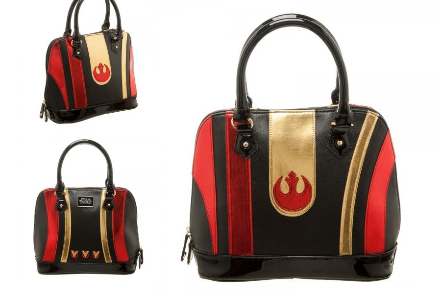 Poe Dameron helmet dome bag by Bioworld!