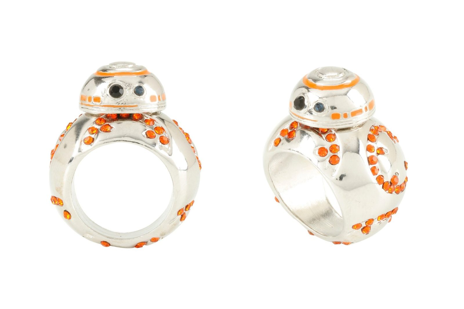 BB-8 bling ring at Hot Topic