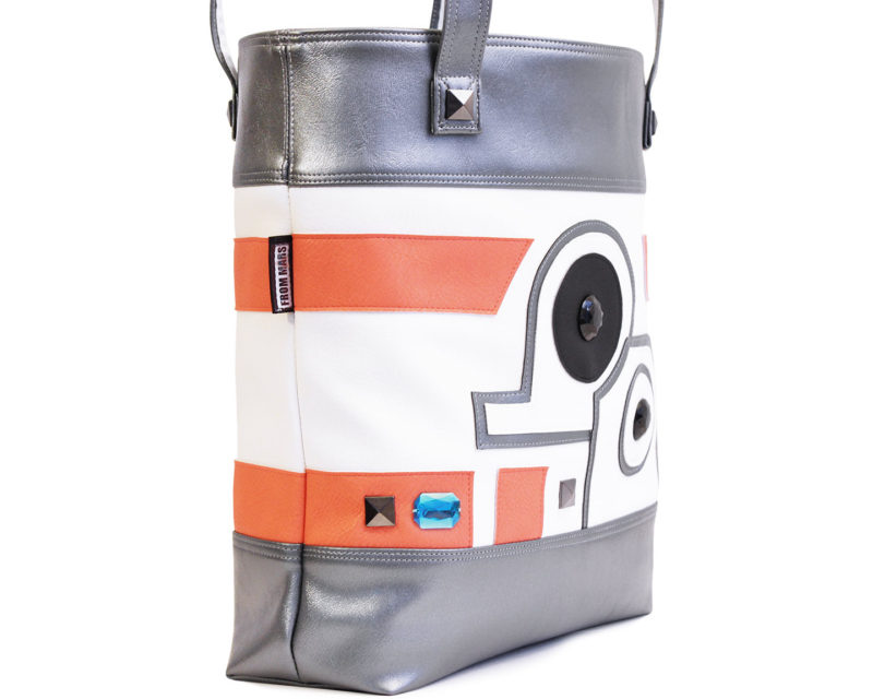 Sent From Mars - BB-8 inspired deluxe tote bag
