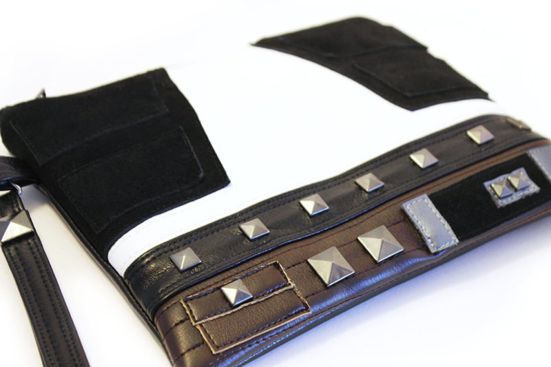 Sent From Mars - Han Solo inspired clutch bag with wristlet