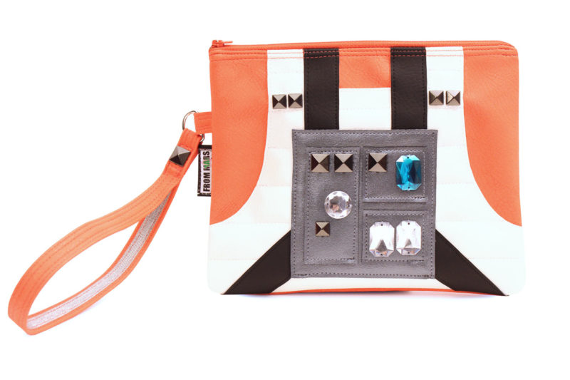 Sent From Mars - Luke Skywalker inspired clutch bag with wristlet