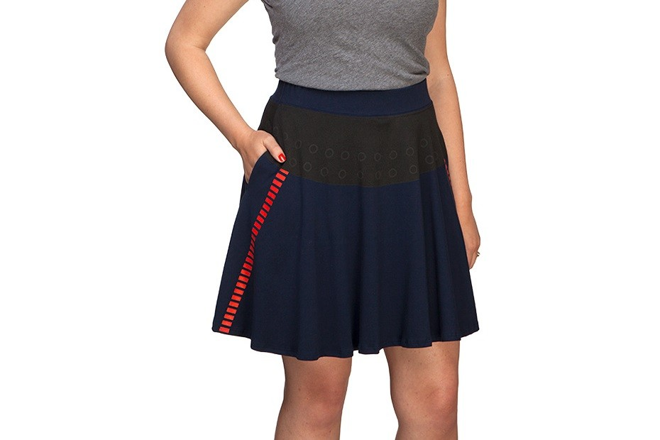 Exclusive I Am Han Solo skirt at Thinkgeek