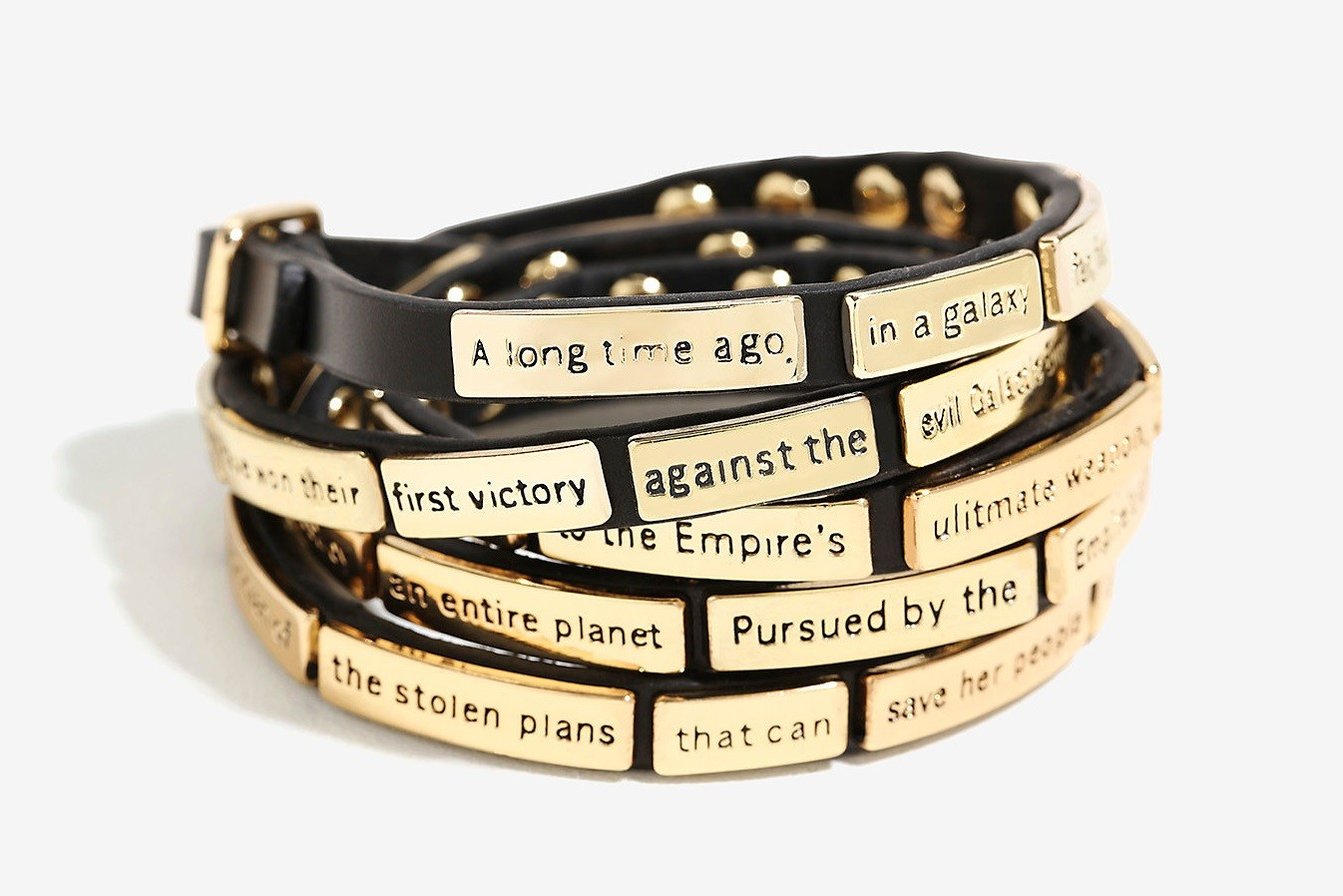 Star Wars wrap bracelet at Box Lunch