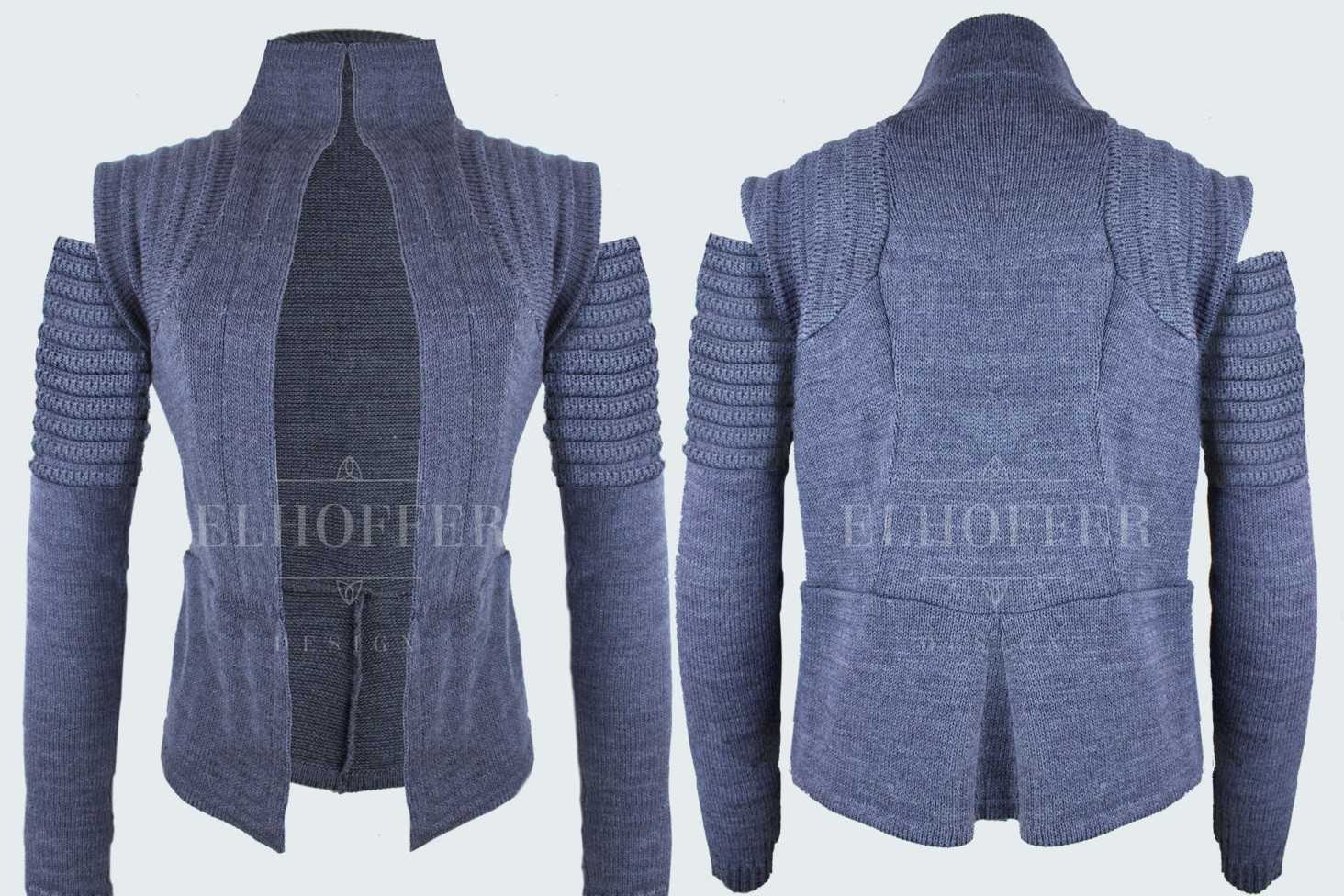 Elhoffer Design - Galactic Scavenger Vest with Arm Warmers (grey)
