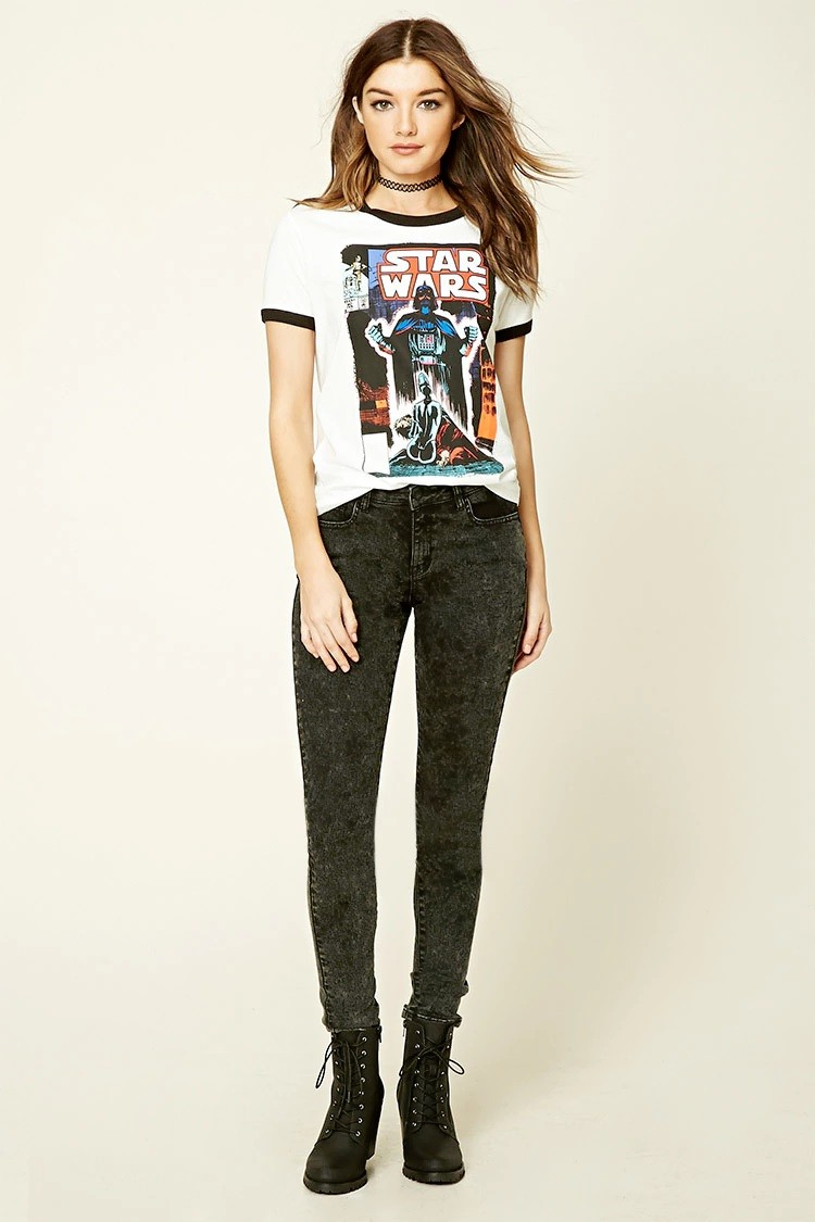Star Wars Graphic Ringer Tee At Forever 21 The Kessel Runway
