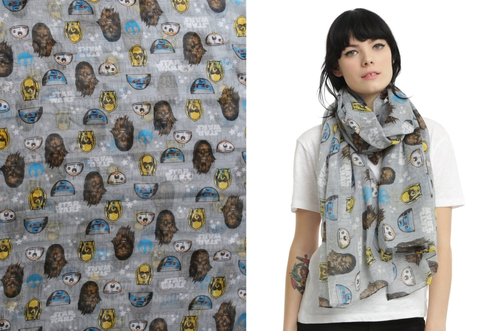 'Not The Droids You're Looking For' scarf