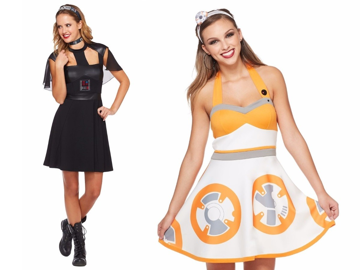 New Her Universe cosplay dresses