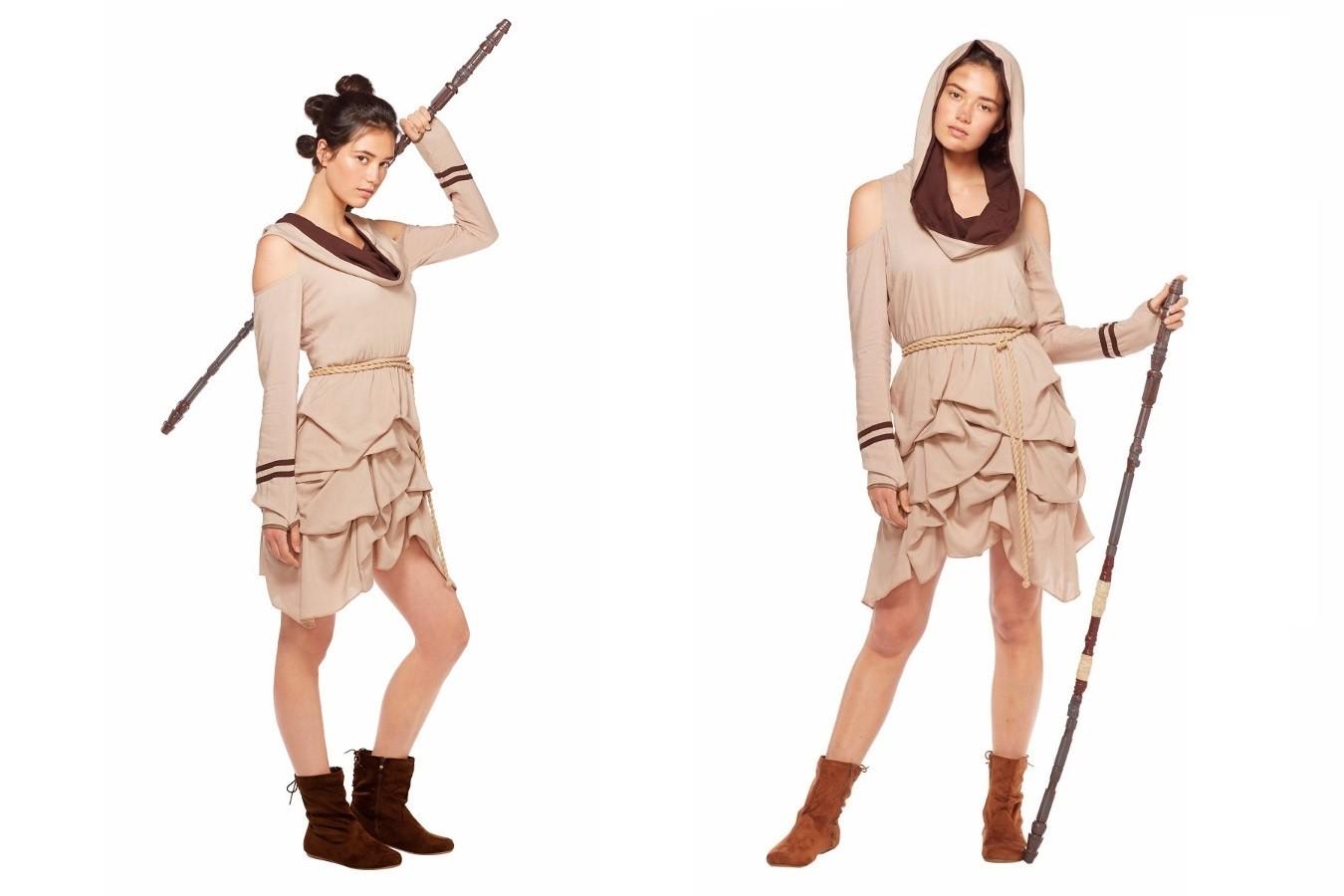 Rey inspired dress at Spirit Halloween