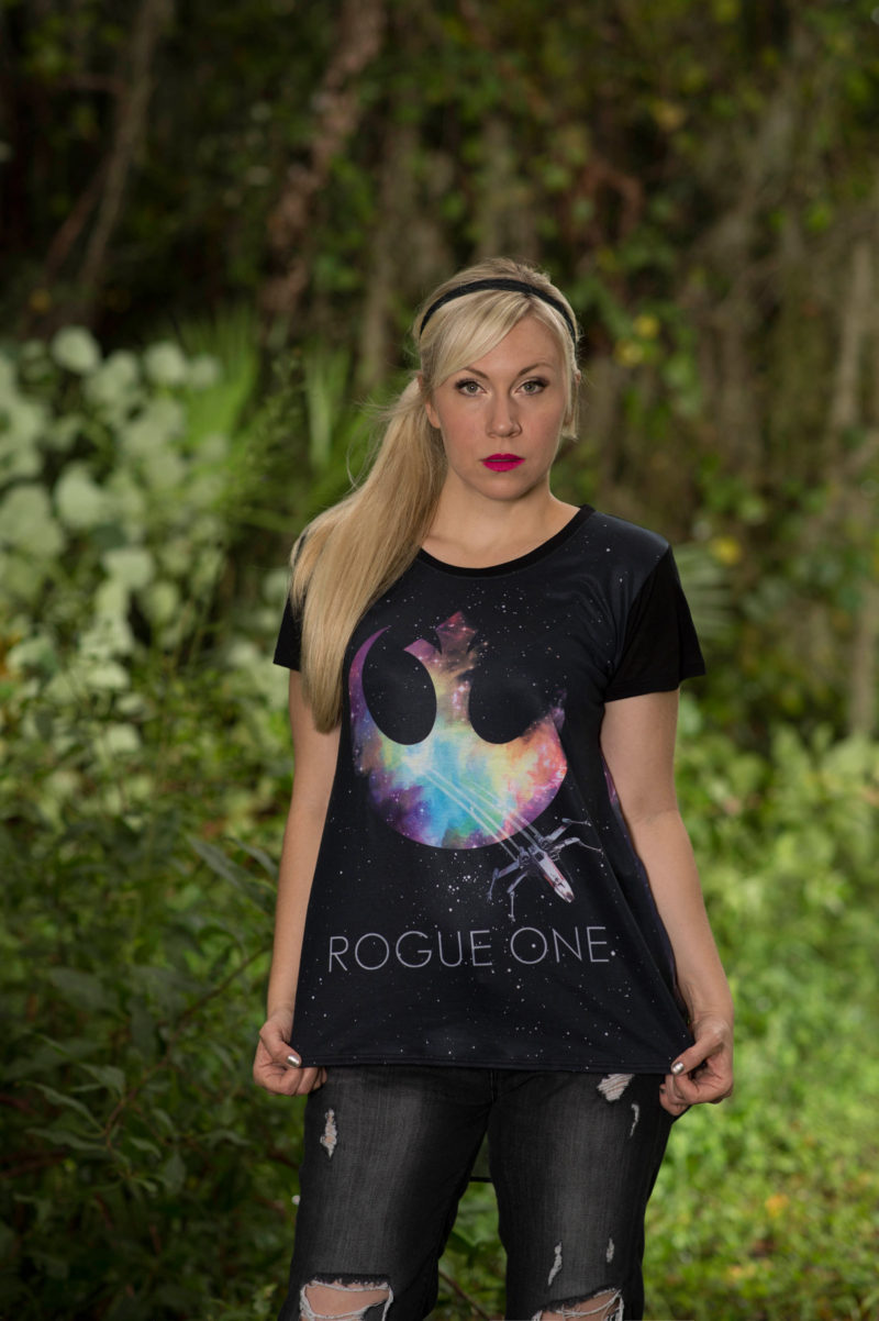 Her Universe - women's Rogue One top