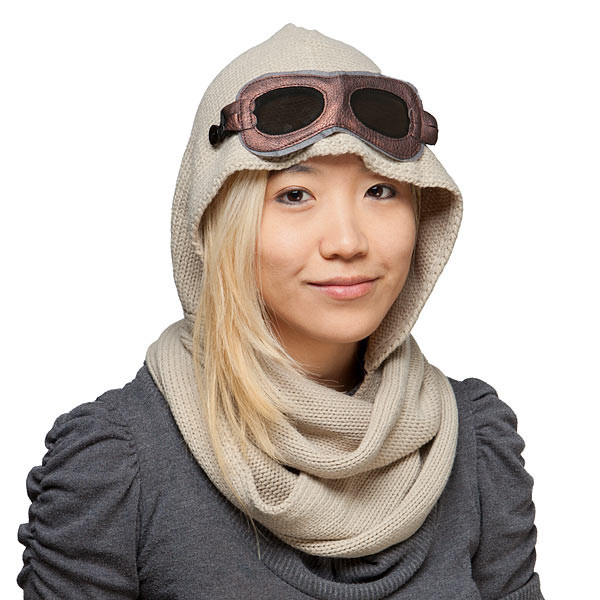 Thinkgeek - Rey hooded scarf
