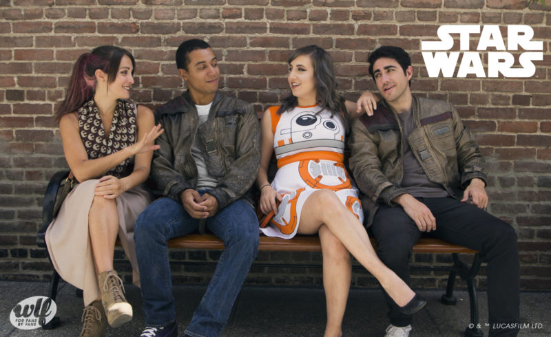 We Love Fine - The Force Awakens fashion