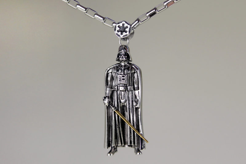 Han Cholo x Star Wars Darth Vader necklace