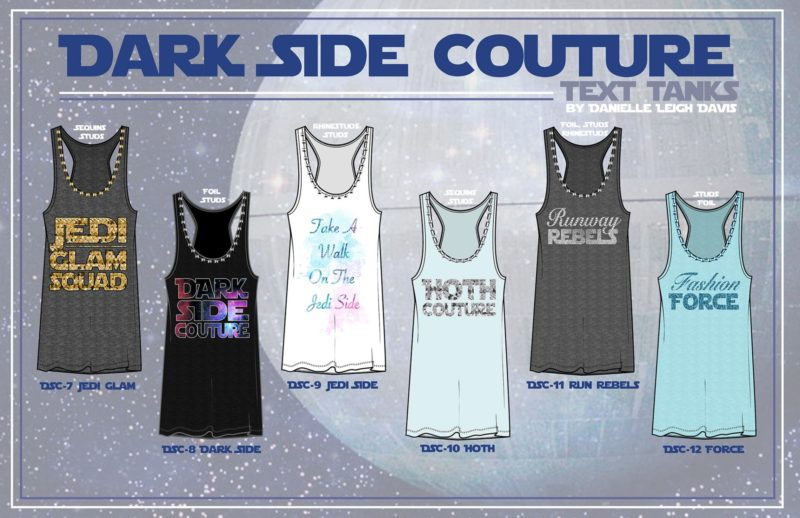 Danielle Leigh Davis - Star Wars Dark Side Couture concept collection