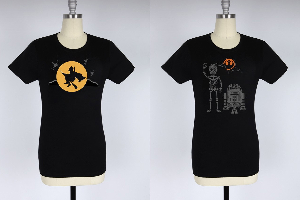 New Her Universe Halloween tees