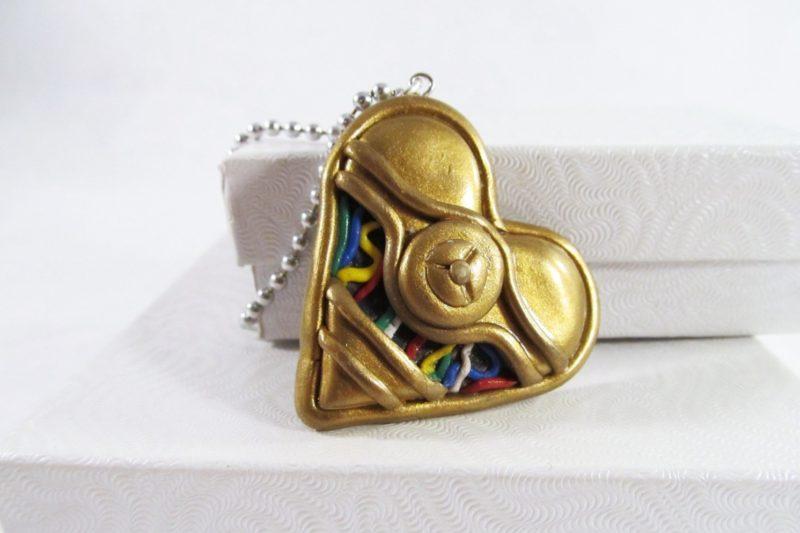 MIss E's Accessories - C-3PO necklace