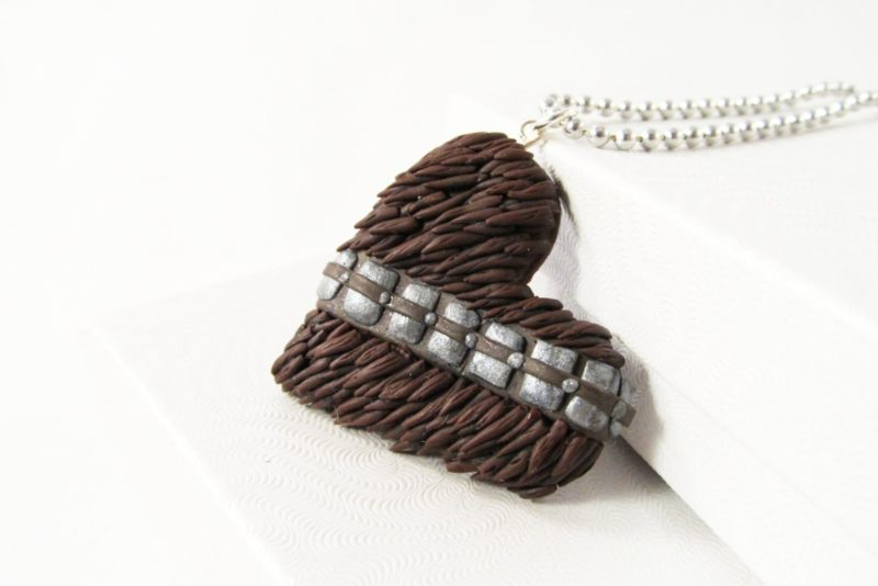 MIss E's Accessories - Chewbacca necklace
