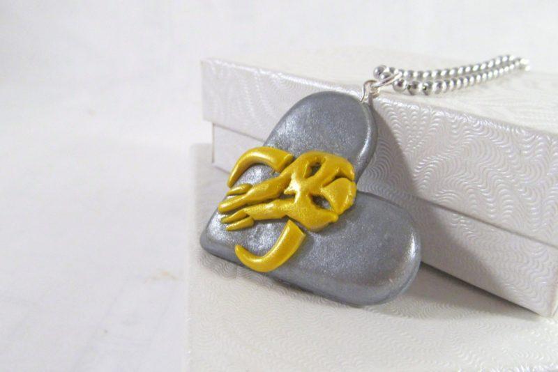 MIss E's Accessories - Mandalorian necklace