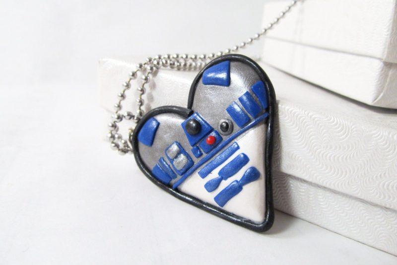 MIss E's Accessories - R2-D2 necklace