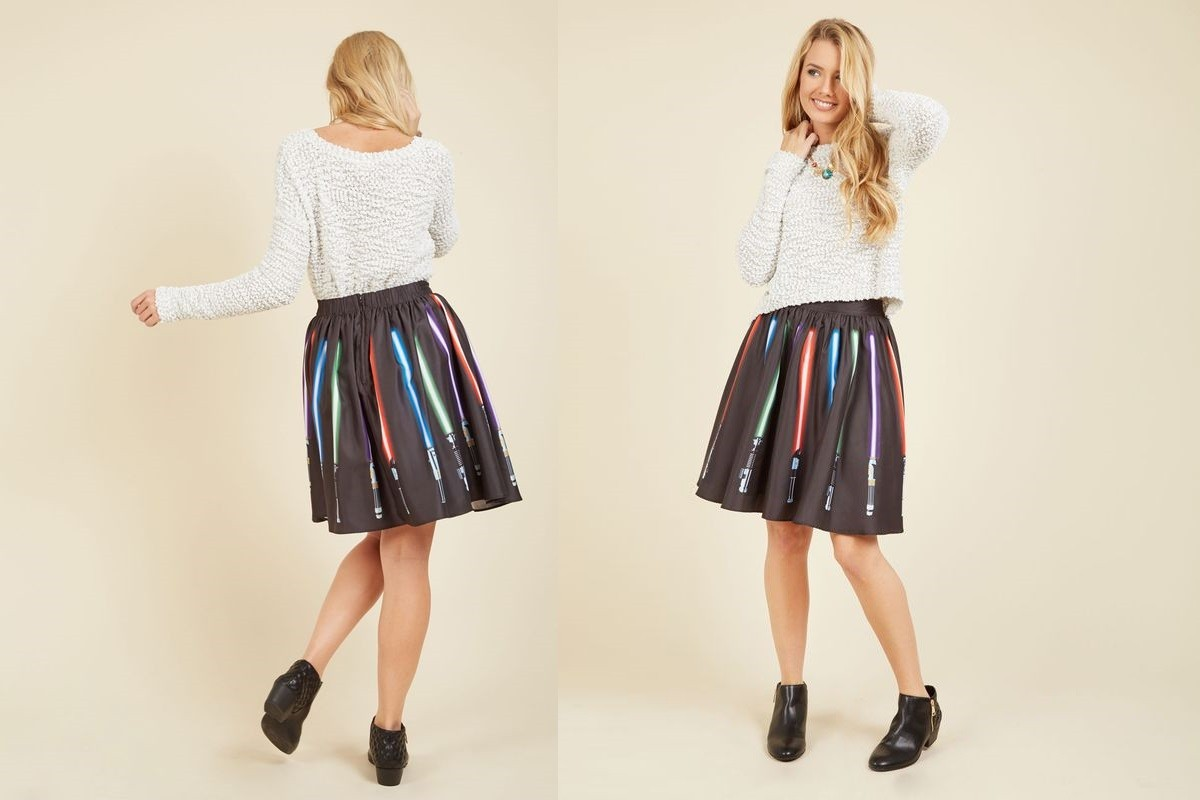 Her Universe skirt coming soon to ModCloth!