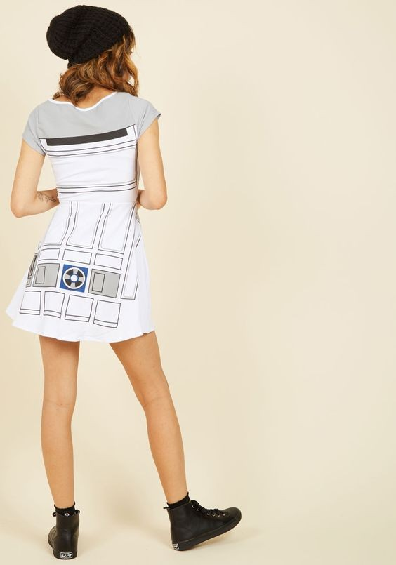 ModCloth - women's R2-D2 skater dress