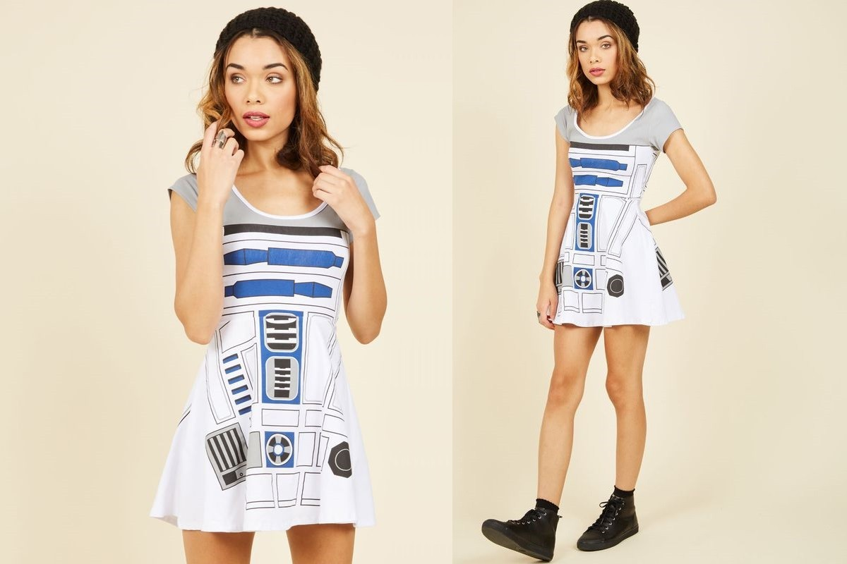 Women's R2-D2 skater dress at ModCloth