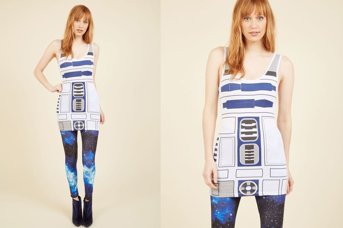 Women's R2-D2 tunic tank top at ModCloth