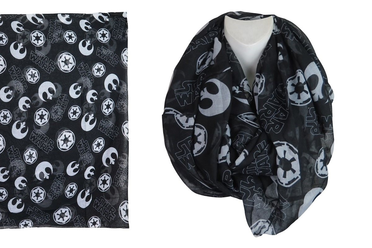 Star Wars infinity scarf at SuperHeroStuff
