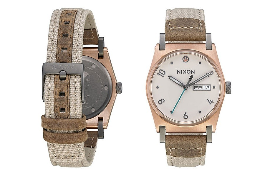 Nixon Jane Leather Rey watch at Thinkgeek