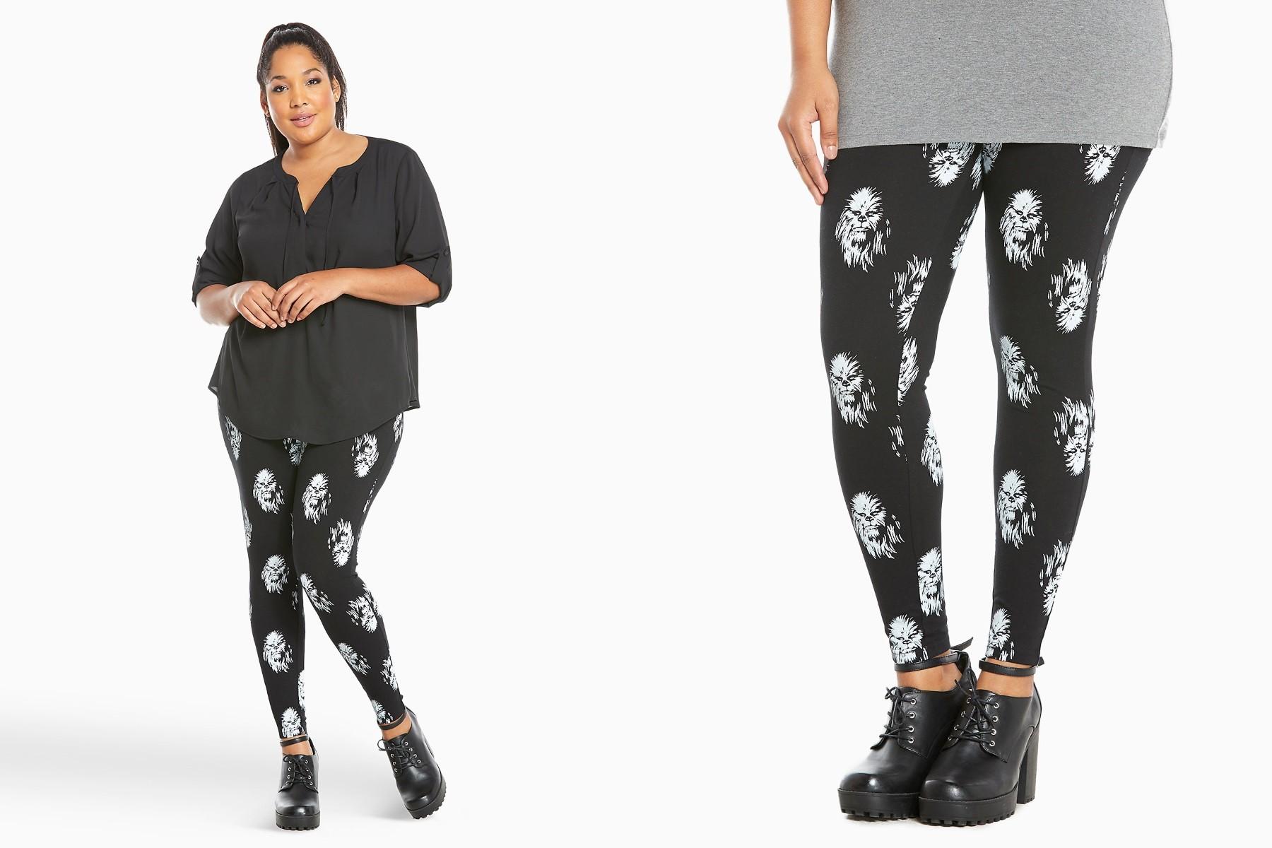 Torrid - women's plus size Chewbacca leggings