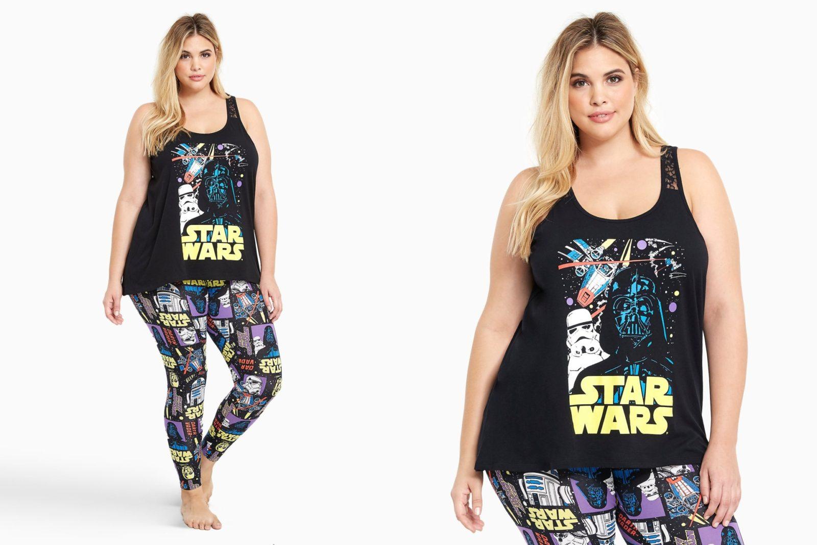 Women's Star Wars sleepwear at Torrid