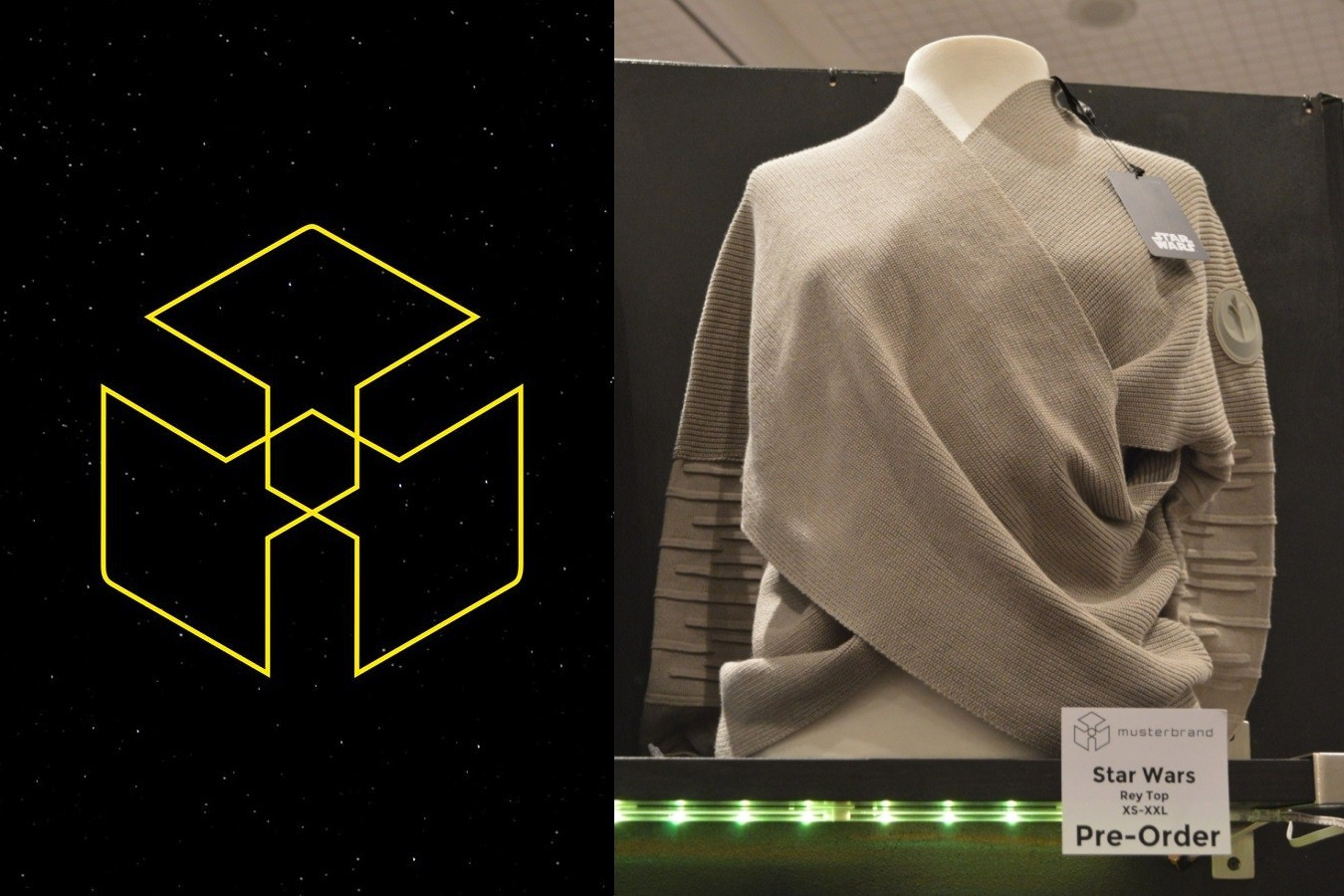 New Rey inspired top from Musterbrand!