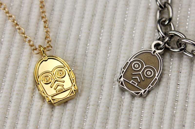 Love And Madness x Star Wars C-3PO necklace