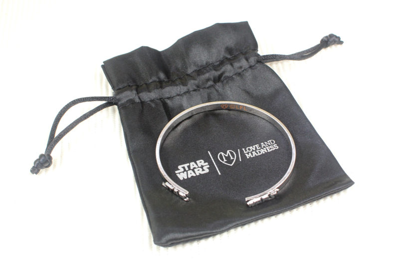 Love And Madness x Star Wars split bangle