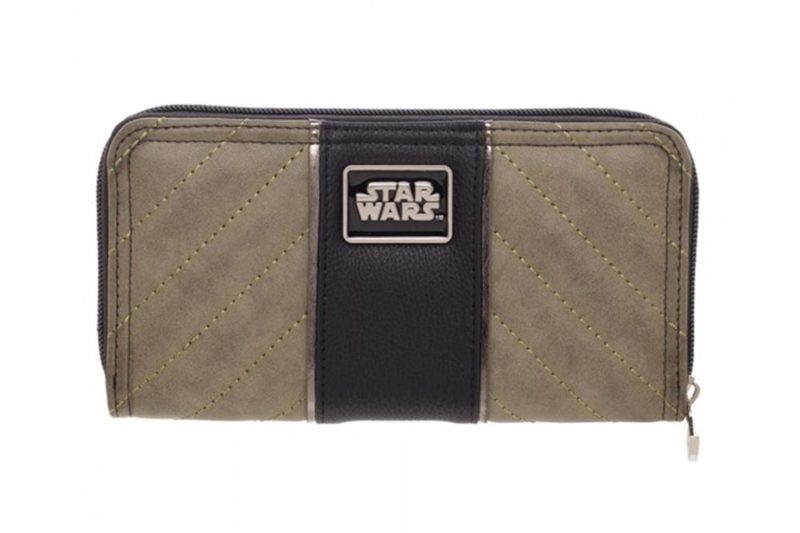 Bioworld x Star Wars Rogue One Jyn Erso zip around wallet