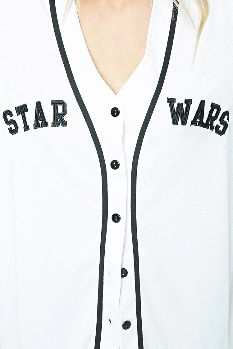Women's Star Wars baseball jersey available at Forever 21