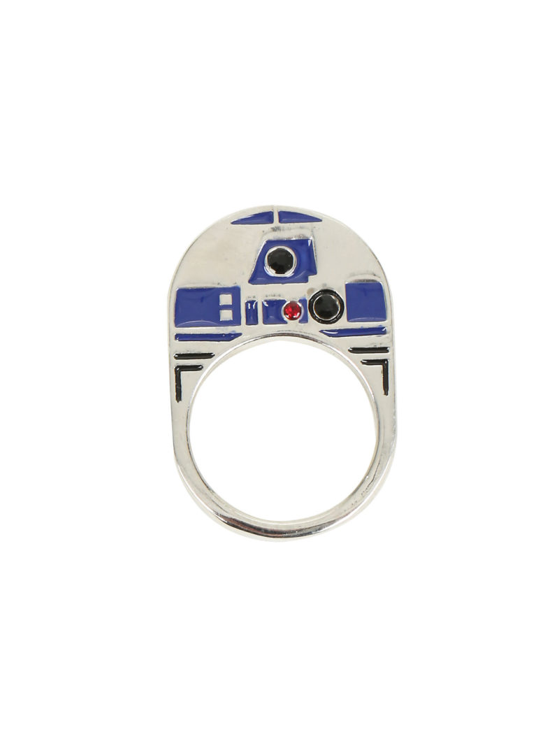 Hot Topic - R2-D2 flat enamel ring