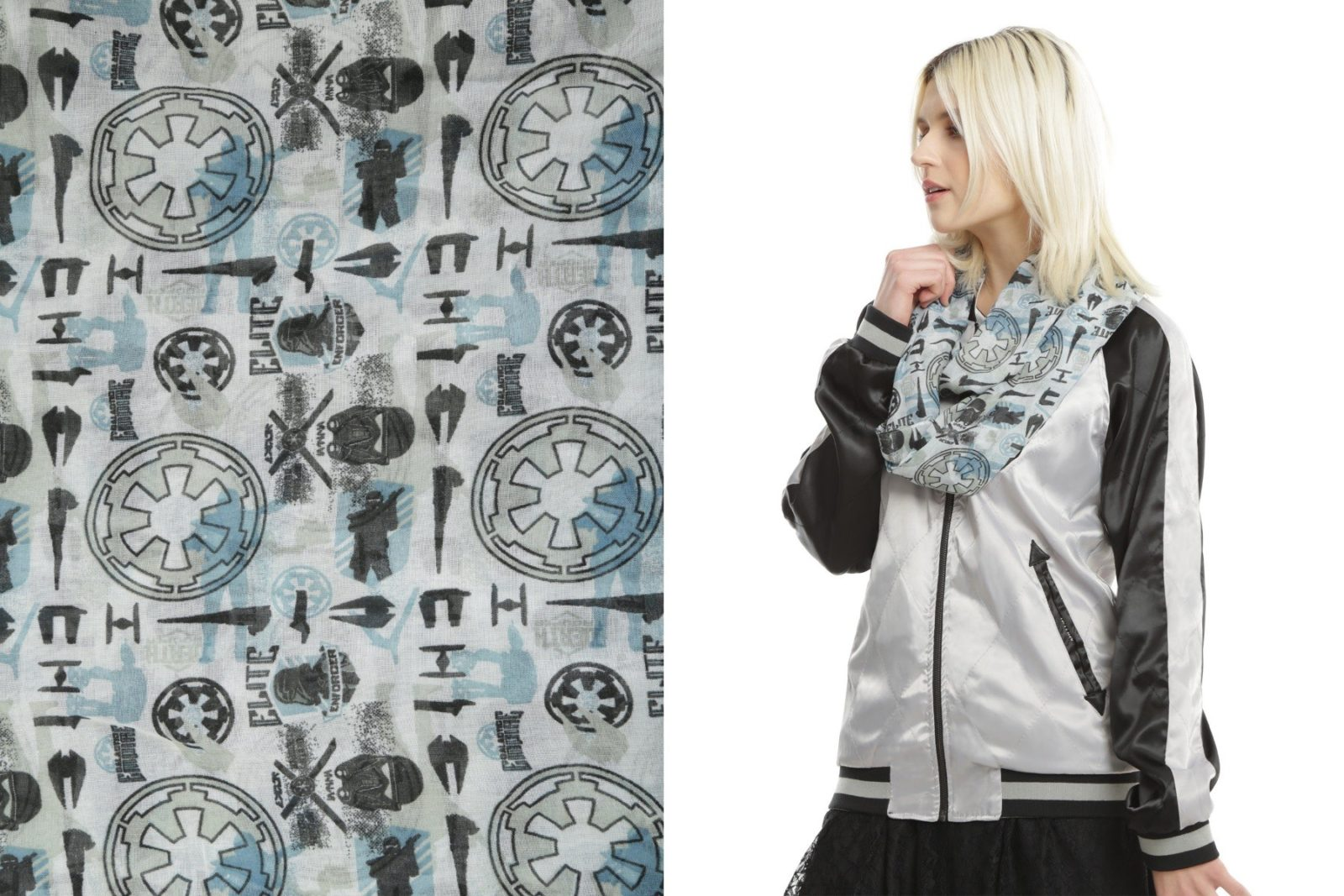 Rogue One mixed icons fashion scarf