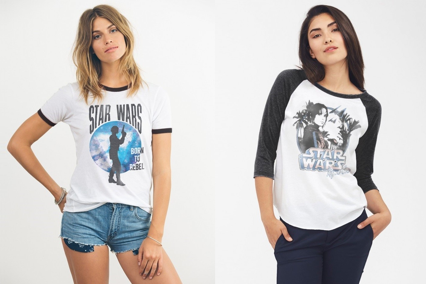 Rogue One tees at Junk Food Clothing