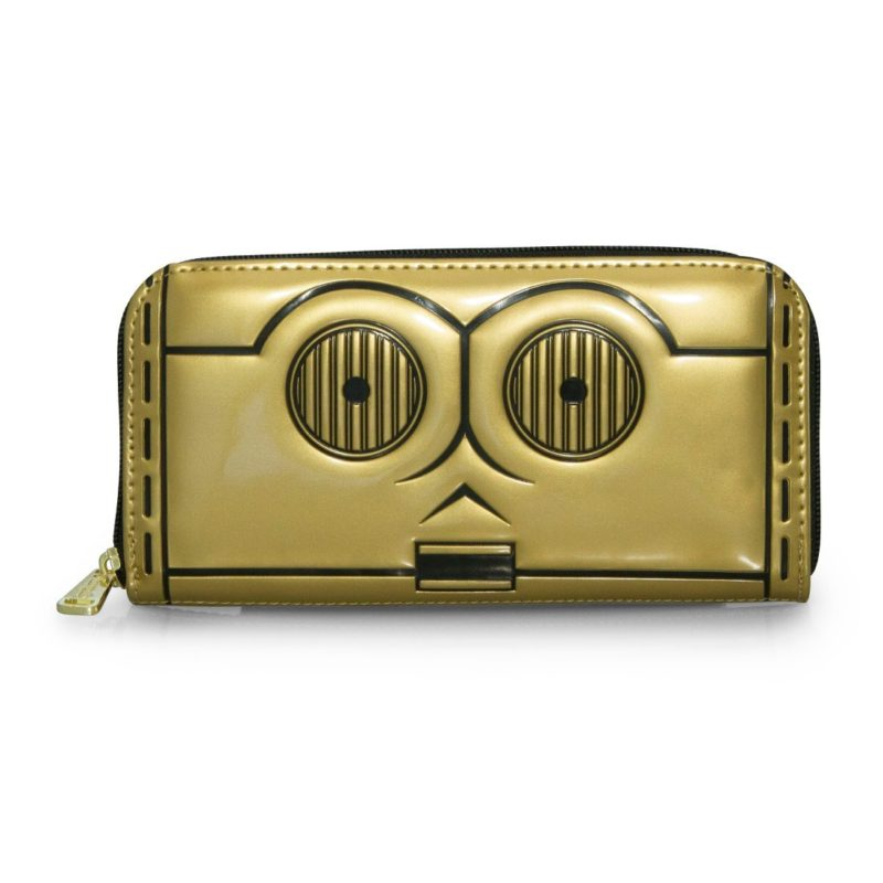 Loungefly X Star Wars C-3PO zip wallet