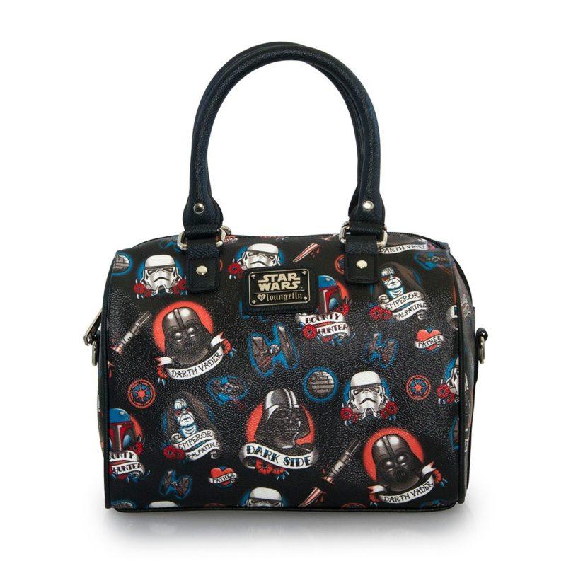 Loungefly X Star Wars Dark Side tattoo duffle bag