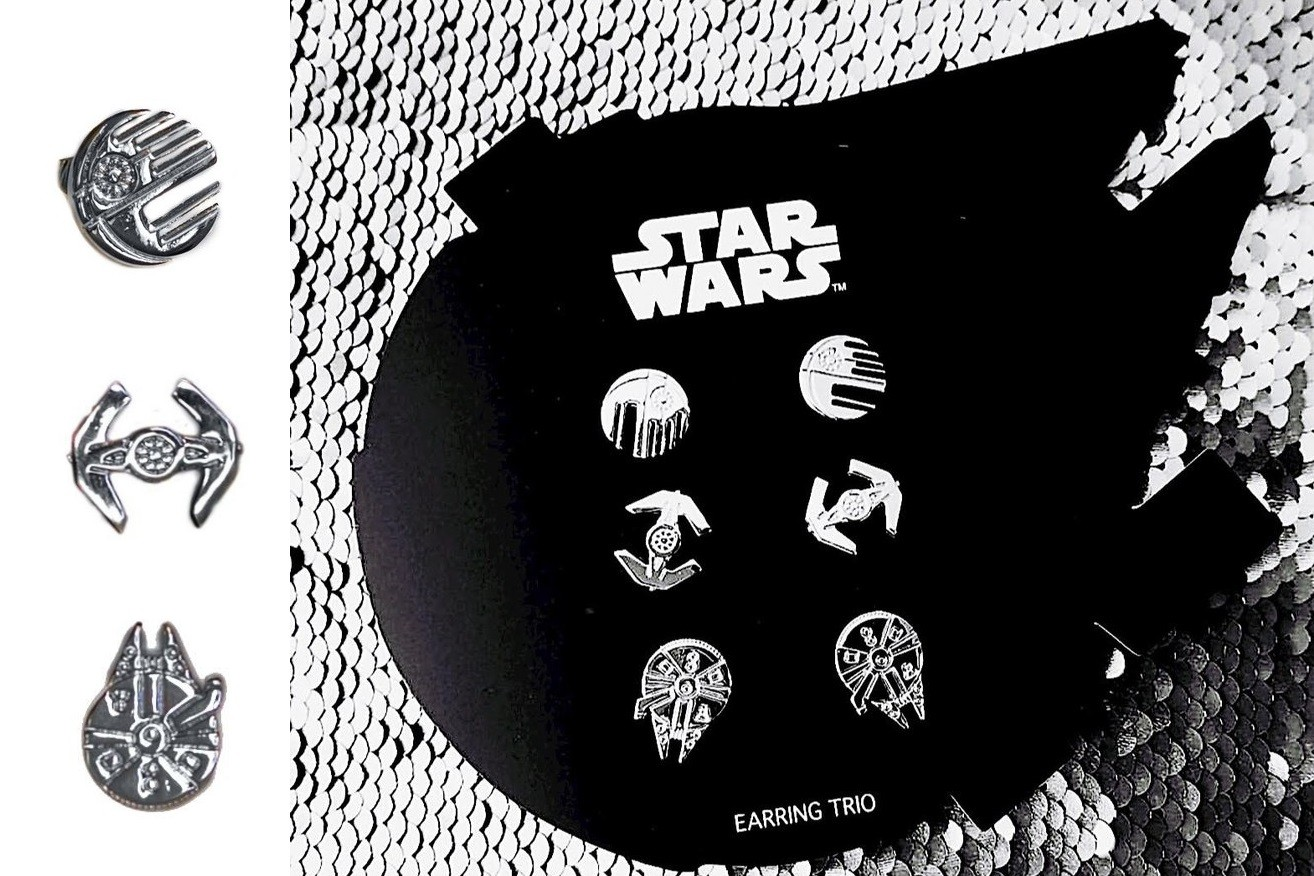 New Love And Madness x Star Wars earring set