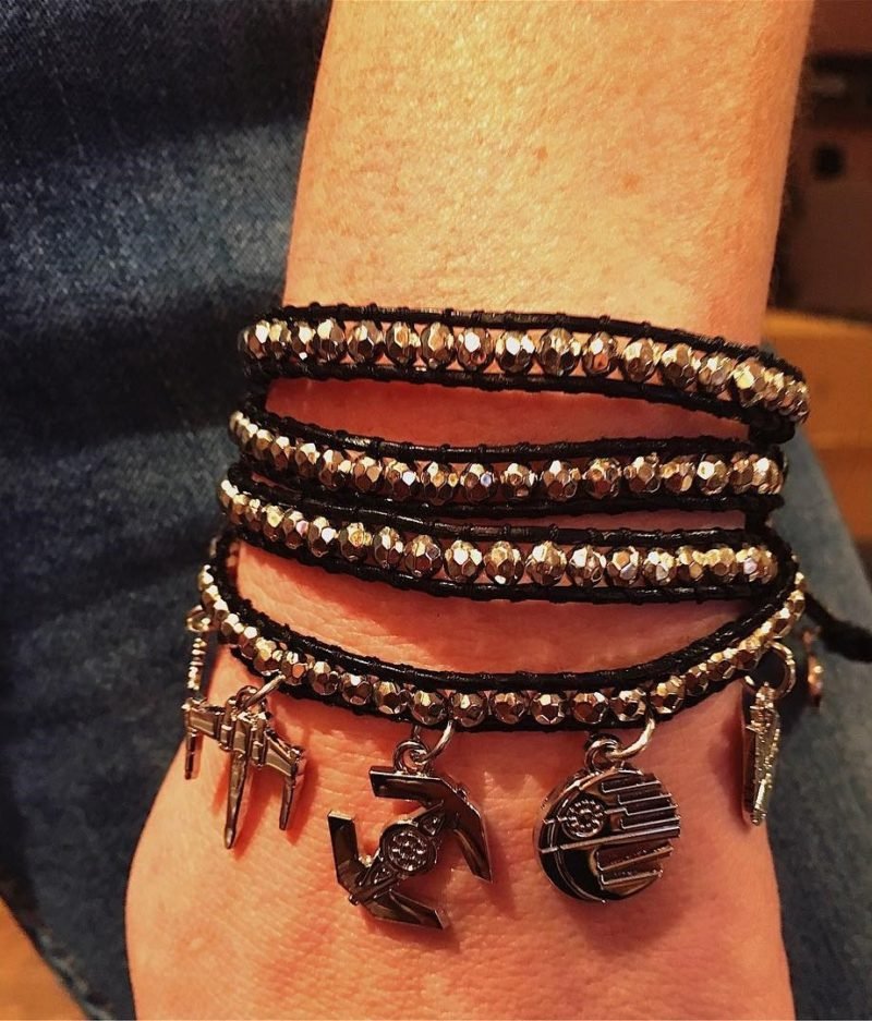 Love And Madness x Star Wars starships wrap bracelet