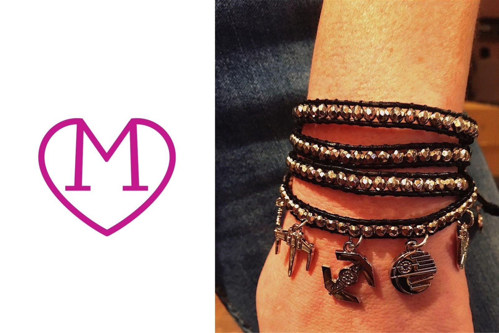 New Love And Madness wrap bracelet!
